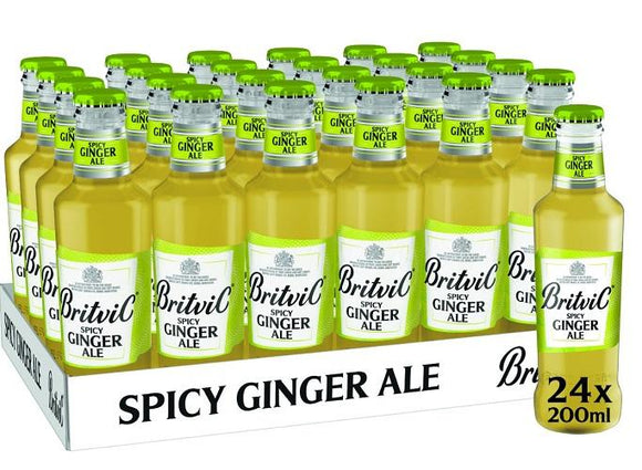 Britvic - Pack (24 Spicy Ginger Ale 200cc) - Inglaterra - 24x200cc