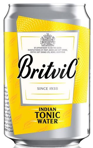 Britvic - Agua Tónica - Indian Tonic Water - Inglaterra - 150cc