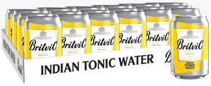 Britvic - Pack (24 Indian Tonic Water 150cc) - Agua Tónica - Inglaterra - 24x150cc