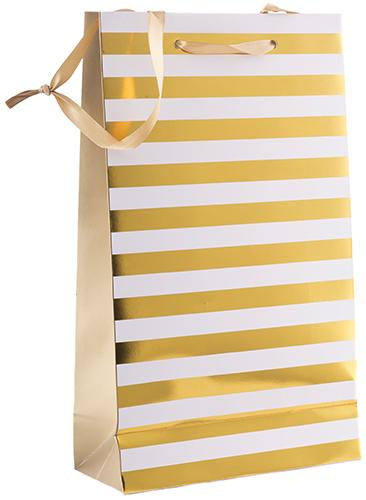 Revel - Ritzy Stripes 2 Botellas - Bolsa Vino