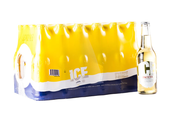 Paceña - Pack 24 Ice Personal - Cerveza - Botella - 300cc
