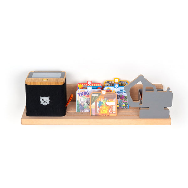BOARTI® tigerbox Wandregal - Bagger