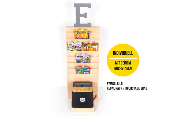 BOARTI® tigerbox Tower - Buchstabe O-U