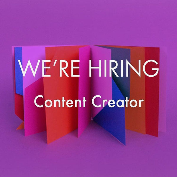 We're hiring a Content Creator & Social Media Lead at Twenty One Toys!