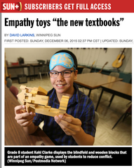 The Empathy Toy in the Winnipeg Sun