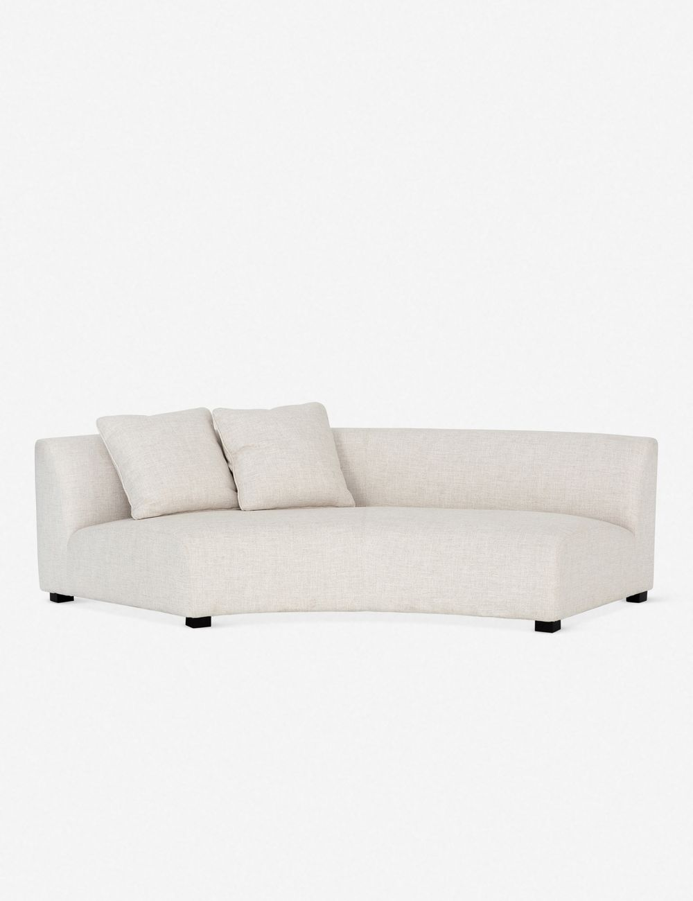 SABAN CURVED LEFT SOFA
