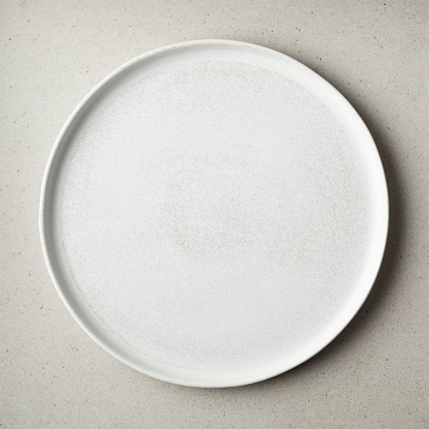 DRIFT REACTIVE SILVER GREY DINNER PLATE