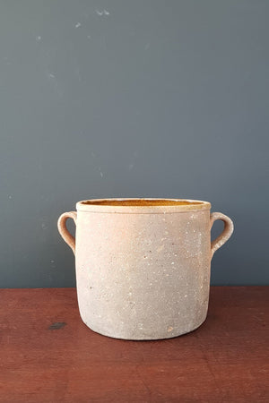 Large French Terracotta Crock Pot