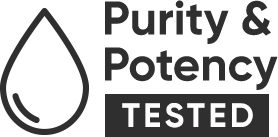 Purity & Potency Tested