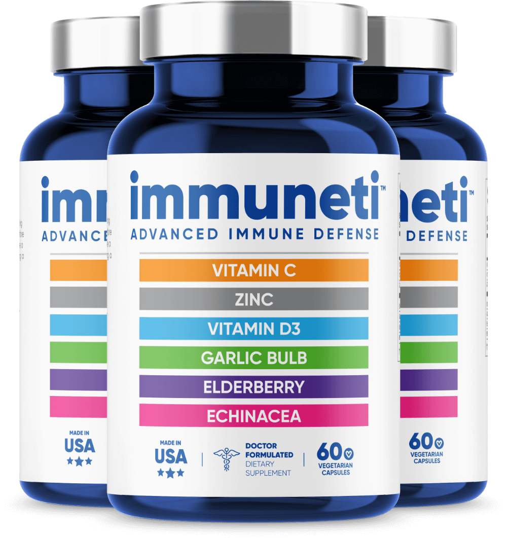 3 Bottles of Immuneti - Advanced Immune Defense