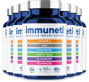 7 Bottles of Immuneti - Advanced Immune Defense