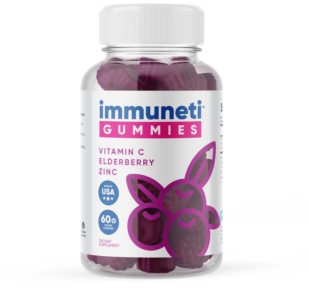 1 Bottle of immuneti™ Gummies - Advanced Immune Defense