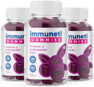 3 Bottles of immuneti™ Gummies - Advanced Immune Defense