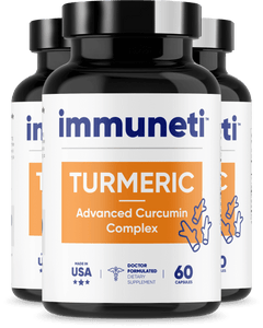 3 Bottles of Turmeric - Advanced Curcumin Complex