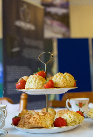Scones with Plymouth Tea