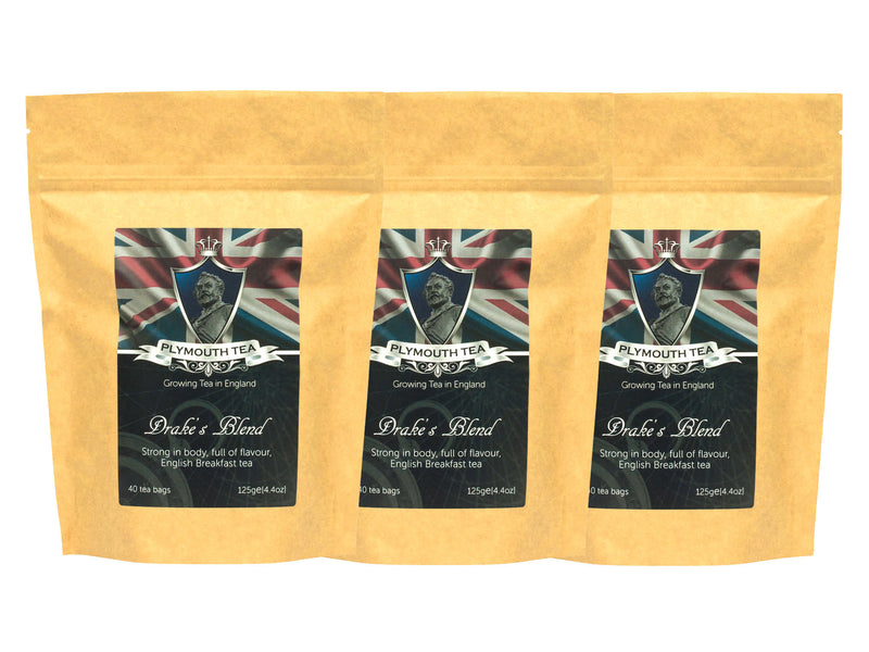 Drake's Blend - Luxury Tea Bags - Set of 3