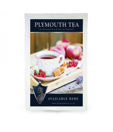 Plymouth Tea Tea Towel with Fruit Tea