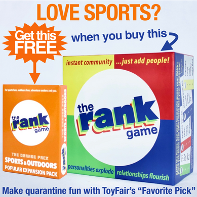 The Rank Game Bundle –– SPORTS & OUTDOORS PACK IS YOURS FREE!