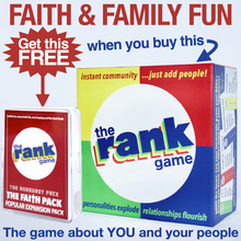 Load image into Gallery viewer, The Rank Game Bundle –– THE FAITH PACK IS YOURS FREE!