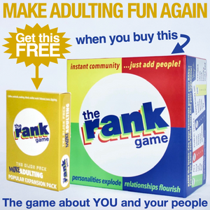 The Rank Game Bundle -- MORE ADULTING PACK IS YOURS FREE!