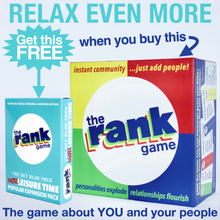 Load image into Gallery viewer, The Rank Game Bundle -- MORE LEISURE TIME PACK IS YOURS FREE!