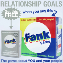 Load image into Gallery viewer, The Rank Game Bundle –– RELATIONSHIP GOALS PACK IS YOURS FREE!