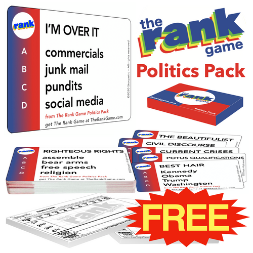 THE RANK GAME Politics Pack
