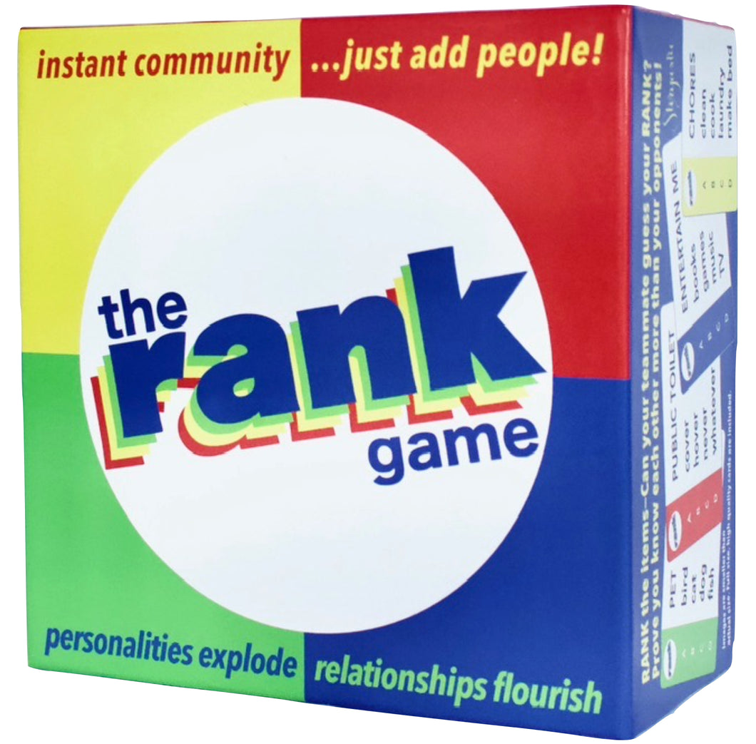The Rank Game –– 🏆🏆 Toy Fair New York 2020
