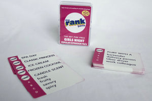Girls Night: The Hot Pink Expansion Pack & Standalone Pack for The Rank Game