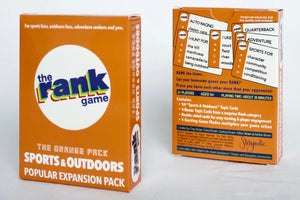 Sports & Outdoors: The Orange Expansion Pack for The Rank Game