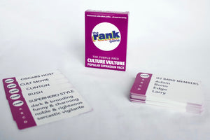 Culture Vulture: The Rank Game Purple Expansion Pack