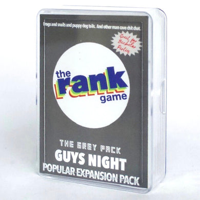 Guys Night: The Grey Expansion & Standalone Pack for The Rank Game
