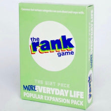 Load image into Gallery viewer, MORE Everyday Life: The Mint-colored Expansion Pack for The Rank Game