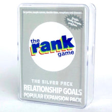 Load image into Gallery viewer, Relationship Goals: The Silver Expansion Pack & Standalone Pack for The Rank Game