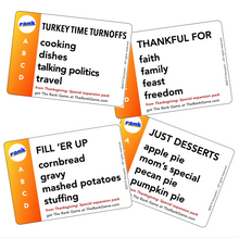 Load image into Gallery viewer, THE RANK GAME Thanksgiving Pack