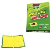 3 x Super Glue Insects Trap/Sticky Boards/Peanut Butter Scented Glue Board/Indoor and Outdoor