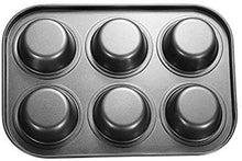 Load image into Gallery viewer, Excellent Quality Bakeware Tin Cupcake Mould | Muffin Baking Tray | Non-Toxic Non-Stick Bakeware