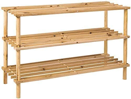Wooden Bamboo Shoe Rack