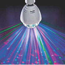 Load image into Gallery viewer, LED Novelty Rotating Disco Bulb/ Smart Multi-color Stage Light B22 Energy [A+] Lighting