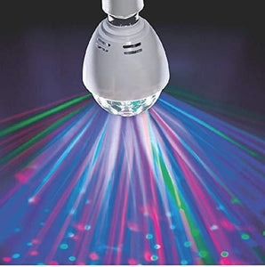 LED Novelty Rotating Disco Bulb/ Smart Multi-color Stage Light B22 Energy [A+] Lighting