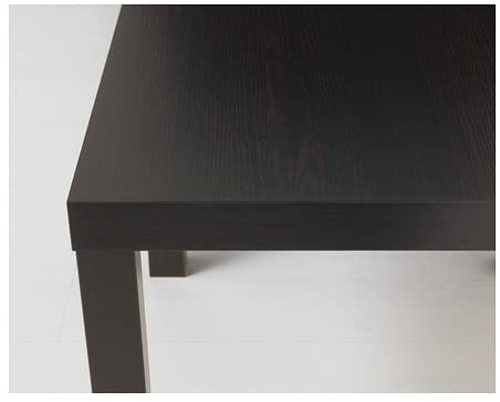 Ikea LACK - Side table, black-brown - 55x55 cm