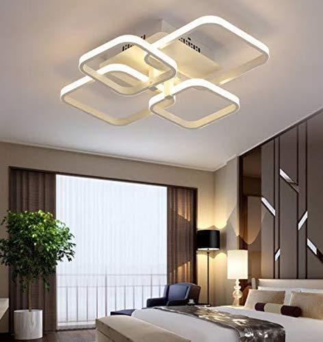 Led Ceiling Lights 3 Colours Adjustment by Remote, Light Fixture (58W) [Energy Class A+] Lighting