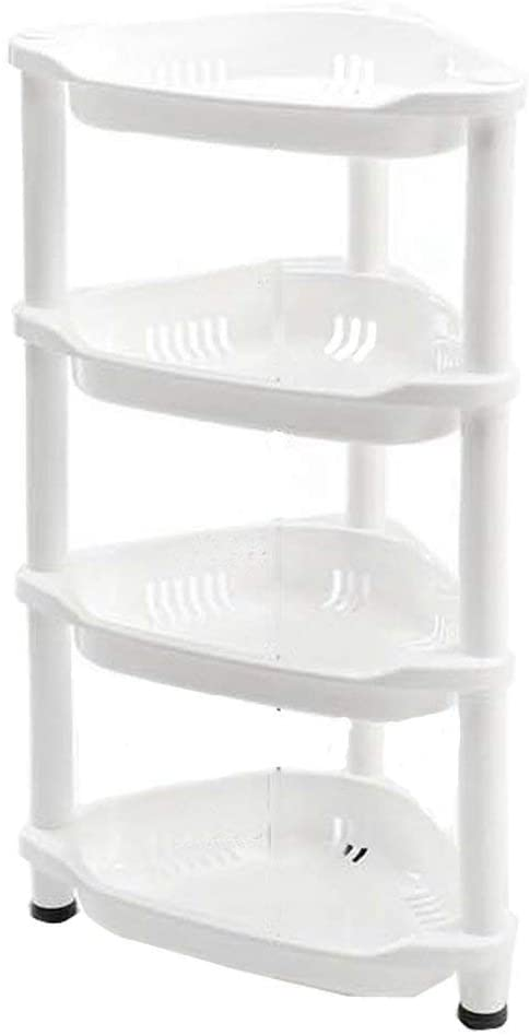 Shower Caddy Corner Rust Proof 4 Tier 70 x 19 x 26 cm White.
