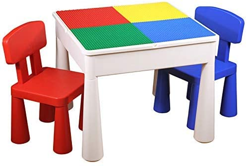 Multi-Function Activity Table & Chair Set | Assembling Educational Toys Children's Study Table