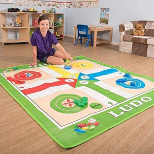 Giant Traditional Ludo Kit | Colourful Play-Mat