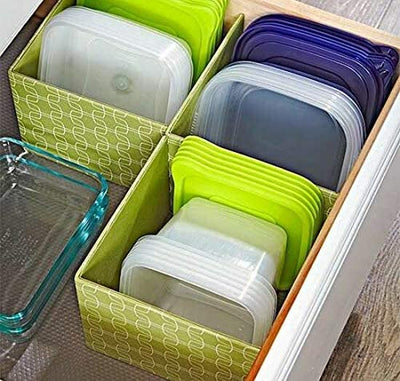 3 Layer Plastic Storage Drawer Organiser/Multi-layer Slide-out Cabinets/Multi-coloured Knob Handles
