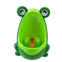 Load image into Gallery viewer, Cute Frog Shape Children Potty, Toilet Training/Kids Urinal for Boys/Pee Trainer Green