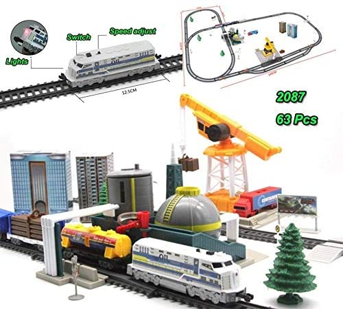 Industrial Mega City Train Set For Children
