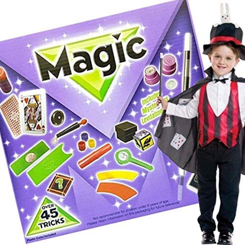 Children's 45 Piece Magic Trick Set