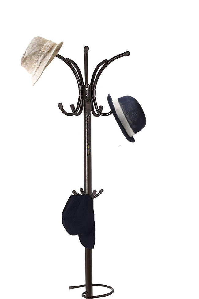 Free Standing Coat Stand With Rotating Hooks for Hanging Clothes & Accessories/Marble Base/Umbrella Holder Coat Stand